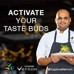 Vernon Tourism ad