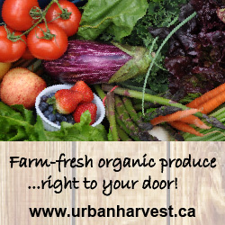 Urban Harvest Organic Delivery ad