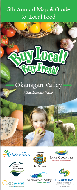 2017 Buy Local! Buy Fresh! Okanagan Map