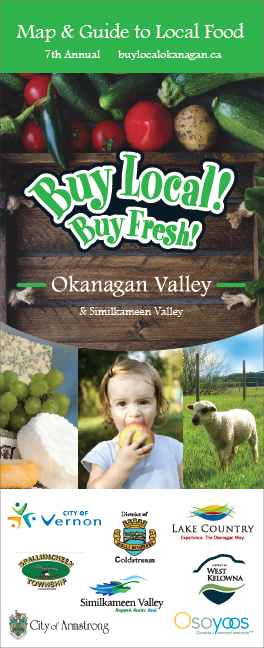 2019 Buy Local! Buy Fresh! Okanagan Map